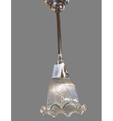 image: LAMPARA CRISTAL RIZOS PLATA
