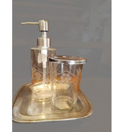 image: Bandejita cuadrada porta perfume