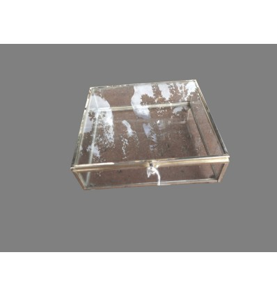 image: Caja cristal cuadrada