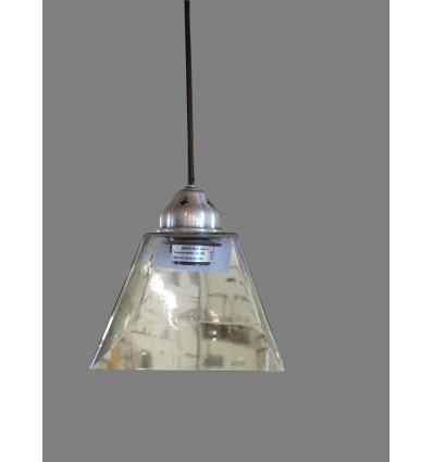 image: Lámpara  cristal cuadrado