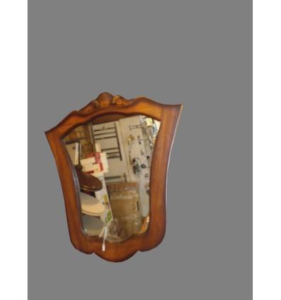 image: Espejo madera nogal antiguo
