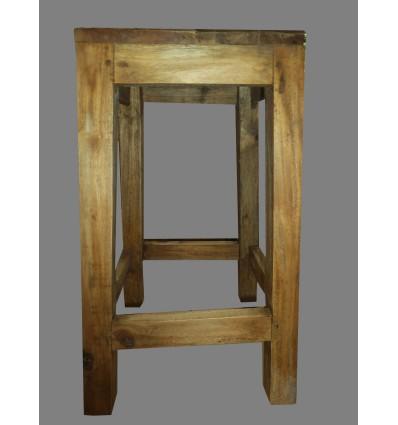 image: Taburete de madera