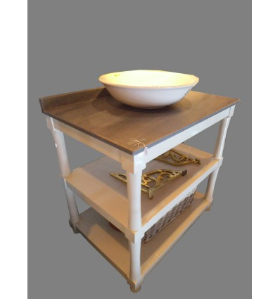 image: consola para lavabo sobreencimera