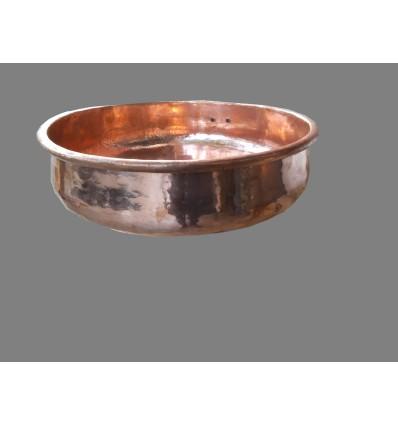 image: Lavabo sobreencimera cobre pequeño