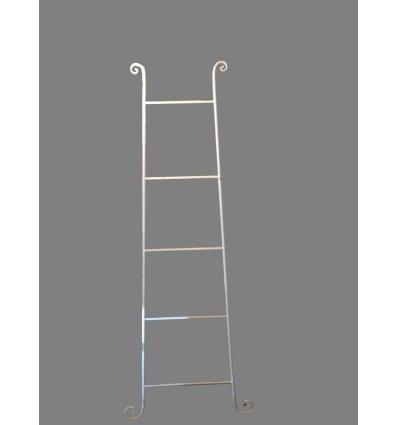 image: Toallero escalera blanco
