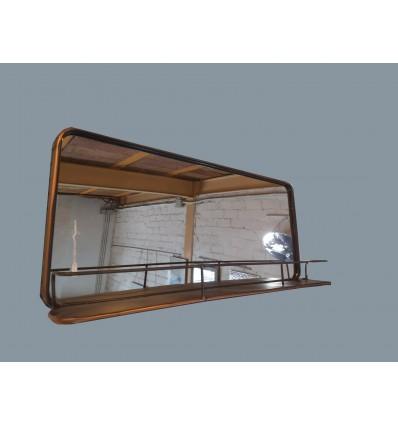 image: Espejo horizontal con repisa