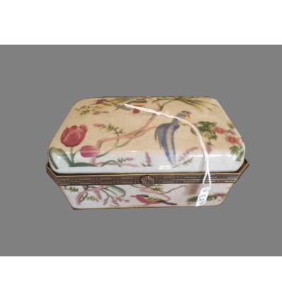 image: Caja ceramica pajaros