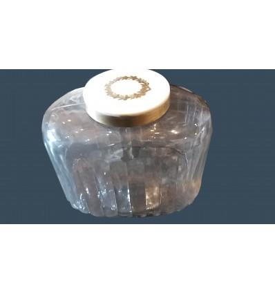image: Bote cristal y hueso grande