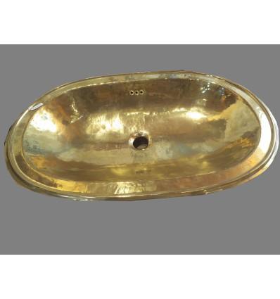 lavabo laton oval liso