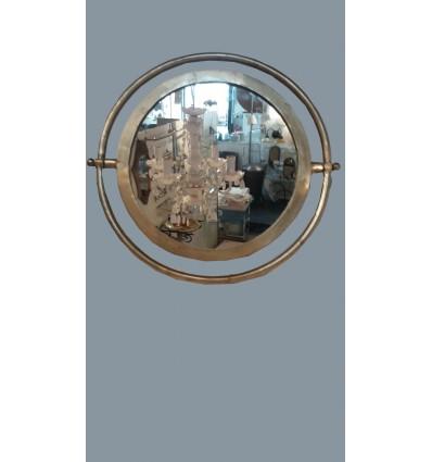 image: espejo metal calado cuadrado