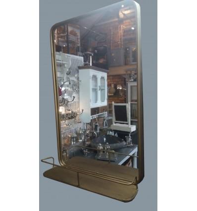image: Espejo vertical con repisa