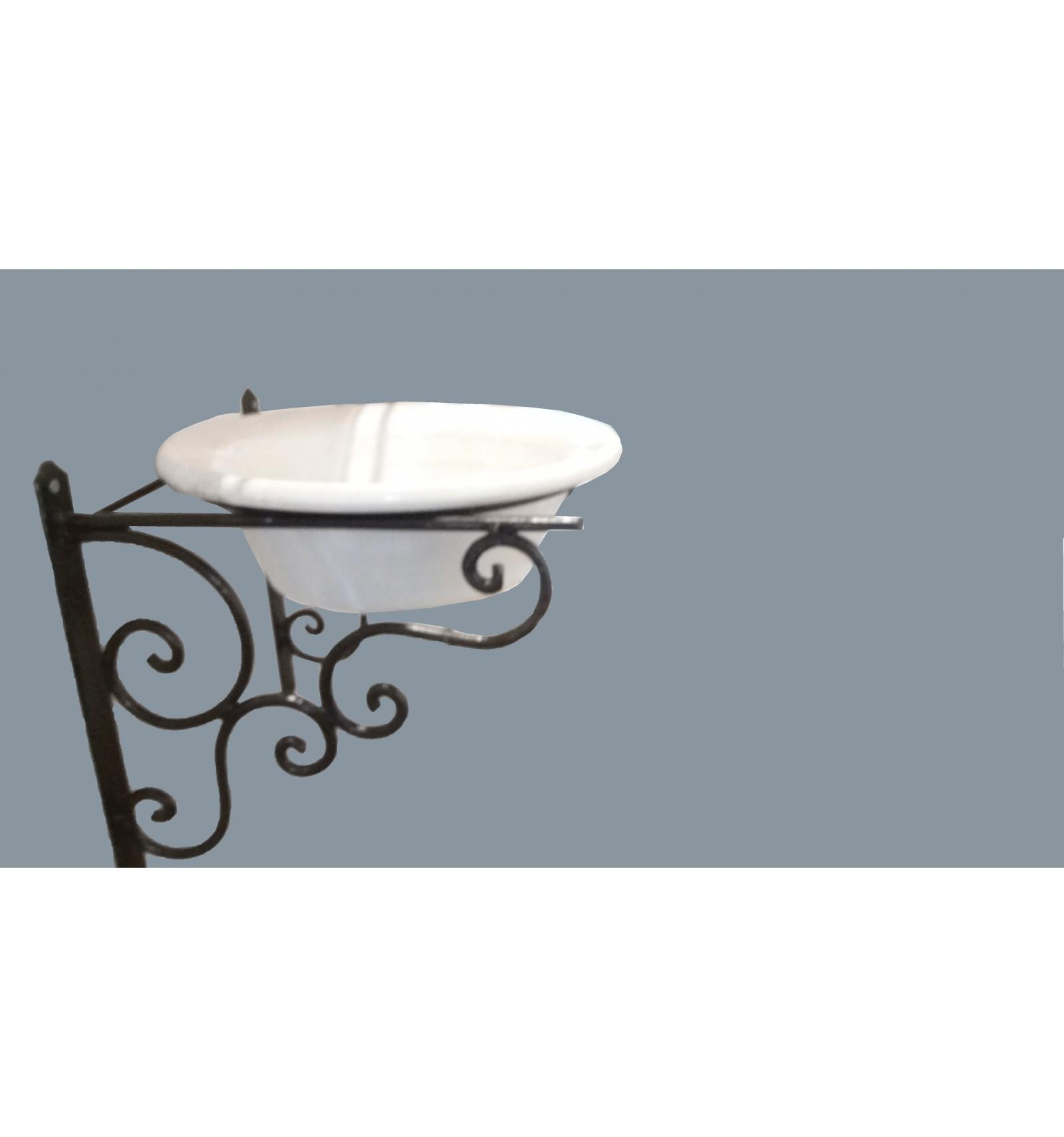 Lavabo flores con soporte - Soporte para lavabo ...