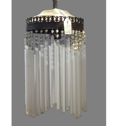 image: lampara tubos cristal