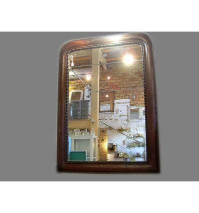 image: espejo mader color caoba